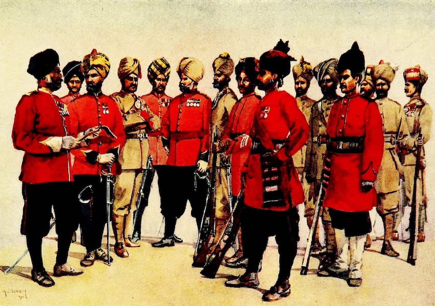 The Armies of India, Painted and Described - Punjab Regiments (1911)