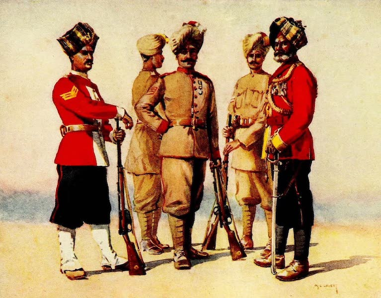 The Armies of India, Painted and Described - Dogras (1911)