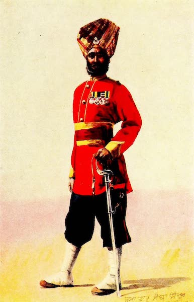 The Armies of India, Painted and Described - 35th Sikhs (1911)