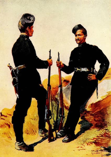 The Armies of India, Painted and Described - 39th Garhwal Rifles (1911)