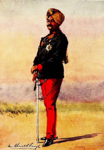 The Armies of India, Painted and Described - 42nd Deoli Regiment (1911)