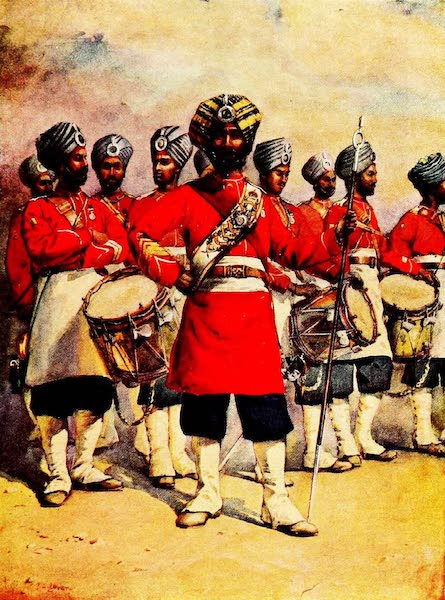 The Armies of India, Painted and Described - 45th Rattray's Sikhs (1911)