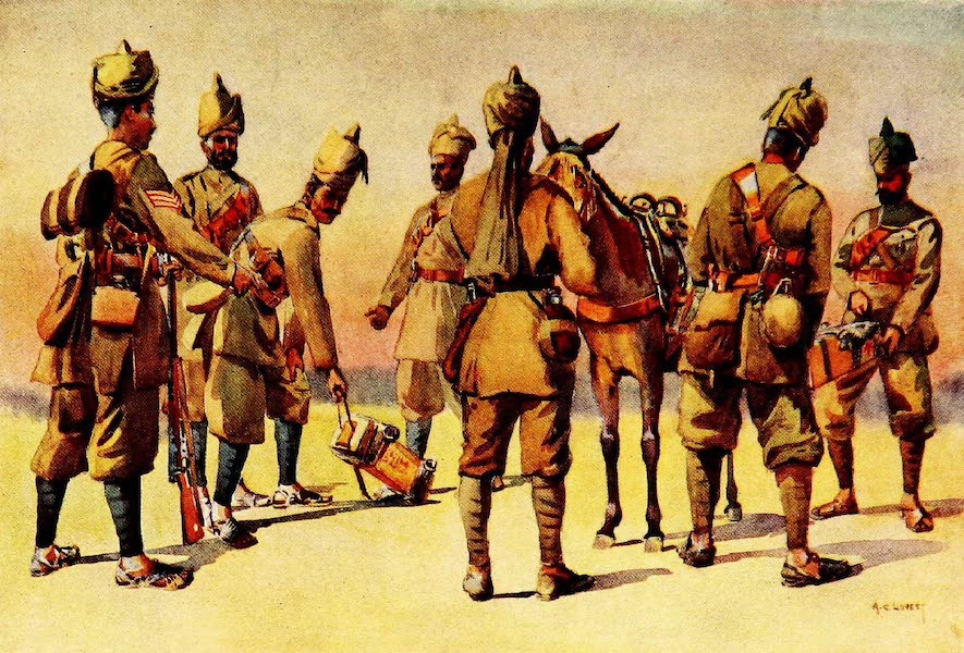 The Armies of India, Painted and Described - 46th and 33rd Punjabis (1911)