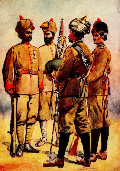 The Armies of India, Painted and Described - Frontier Force [I] (1911)