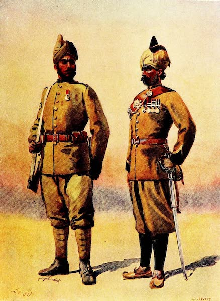 The Armies of India, Painted and Described - Frontier Force [II] (1911)