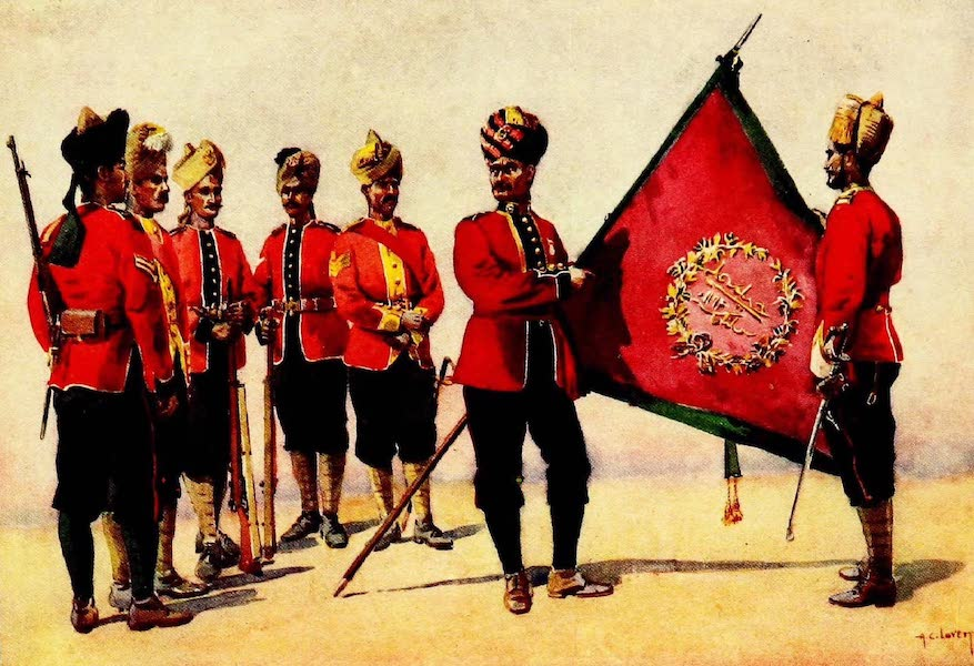 The Armies of India, Painted and Described - Carnatic Infantry (1911)