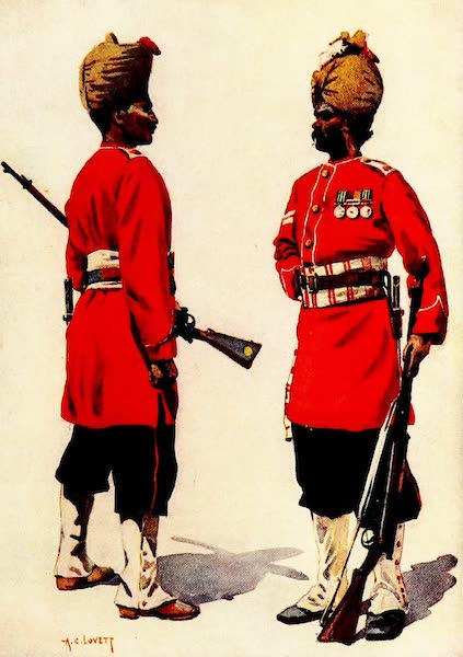 The Armies of India, Painted and Described - 101st Grenadiers and 102nd King Edward's Own Grenadiers (1911)