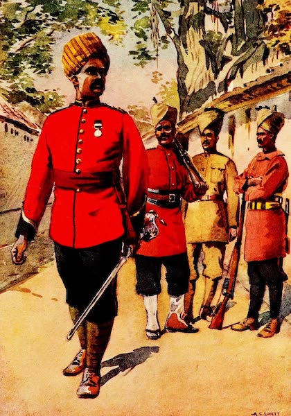 The Armies of India, Painted and Described - Mahratta Infantry (1911)