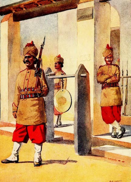 The Armies of India, Painted and Described - 124th Duchess of Connaught's Own Baluchistan Infantry (1911)