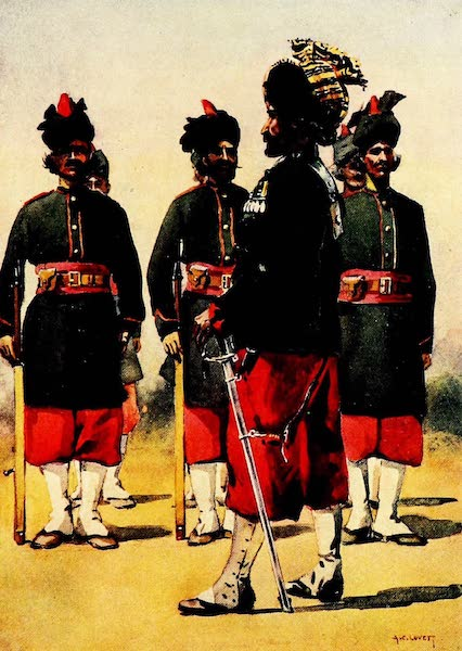 The Armies of India, Painted and Described - 127th Queen Mary's Own Baluch Light Infantry (1911)