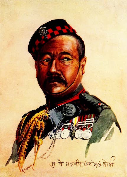 The Armies of India, Painted and Described - 2nd King Edward's Own Gurkha Rifles (1911)
