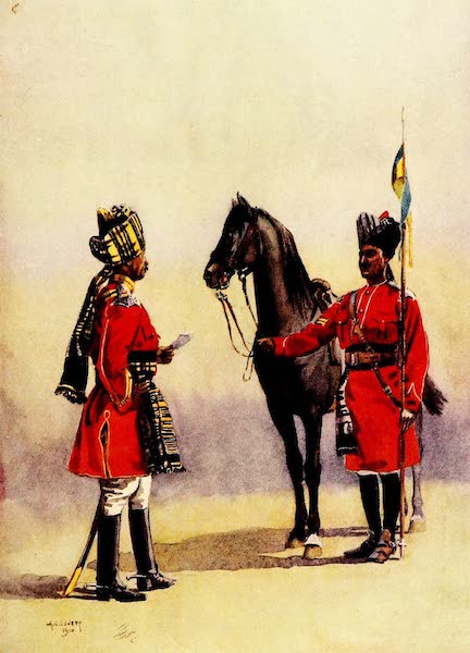 The Armies of India, Painted and Described - Alwar Lancers (1911)