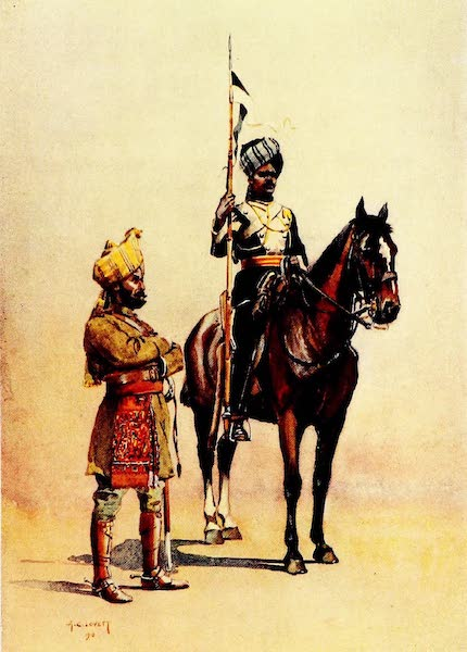 The Armies of India, Painted and Described - Mysore Transport Corps and Mysore Lancers (1911)