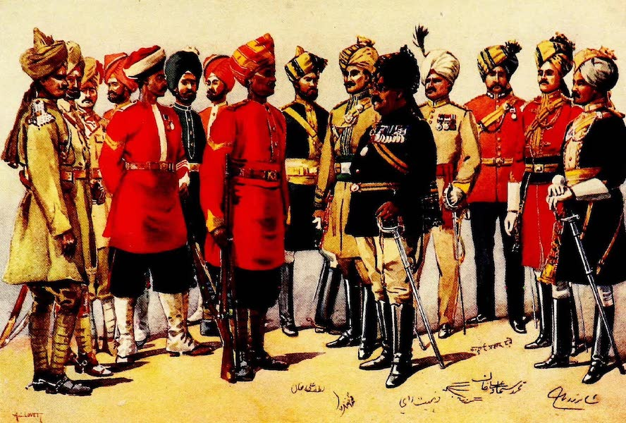 The Armies of India, Painted and Described - Imperial Service Troops (1911)