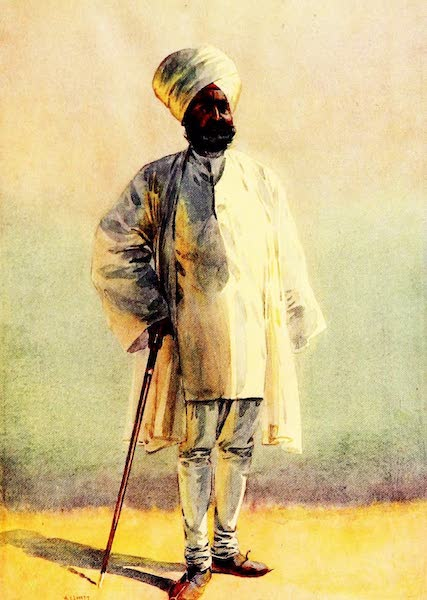 The Armies of India, Painted and Described - Off to Pension (1911)
