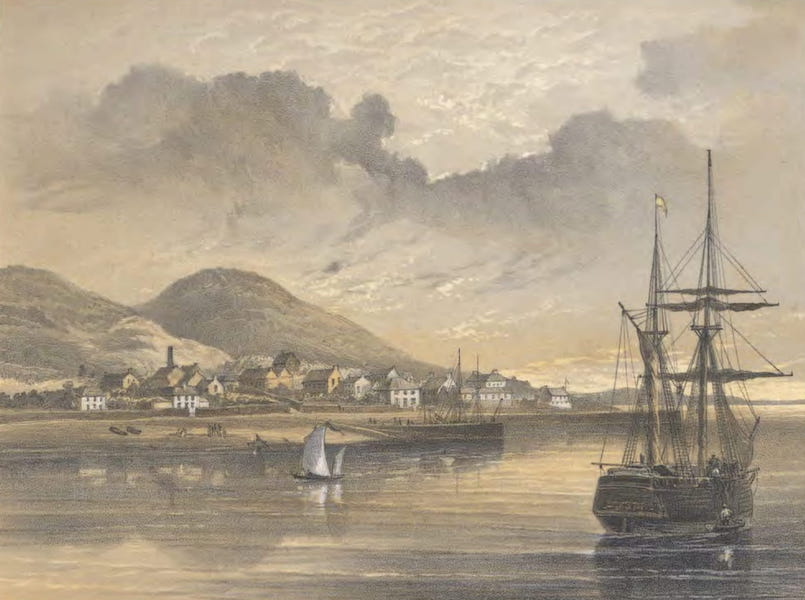 The Atlantic Telegraph - Valentia in 1857-1858 at the Time of the Laying of the Former Cable (1865)