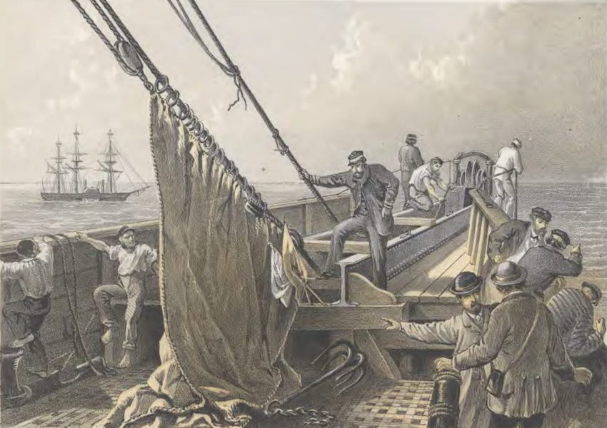 The Atlantic Telegraph - In the Bows, August 2 : The Cable Broken and Lost : Preparing to Grapple (1865)