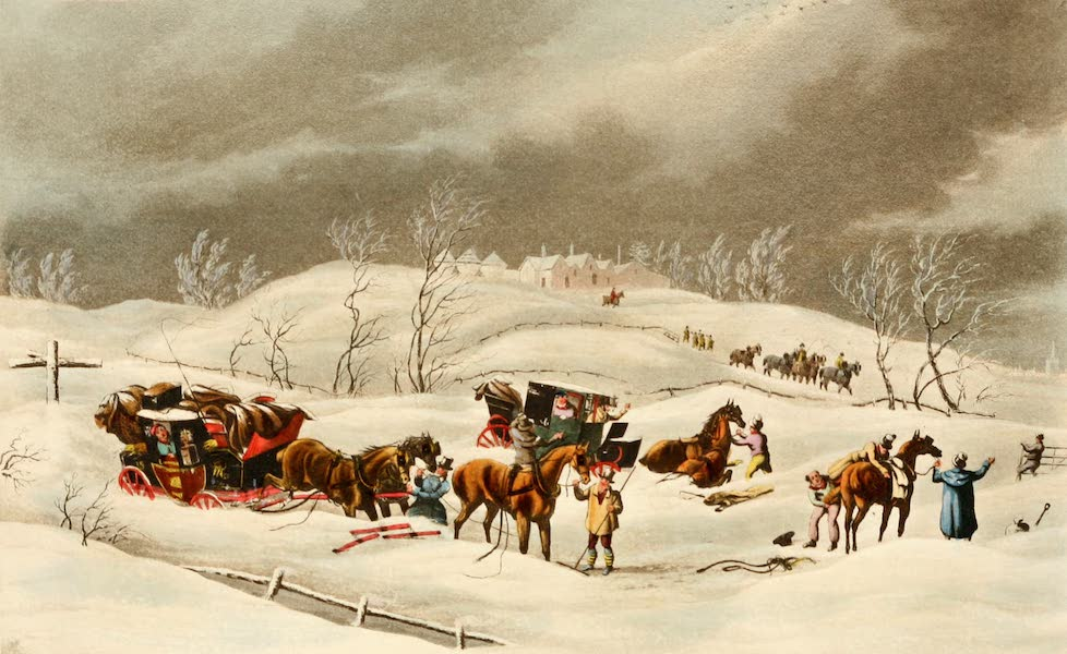 The Autobiography of a Stage Coachman Vol. 1 - The Snow Storm Delay of the Mail (1904)