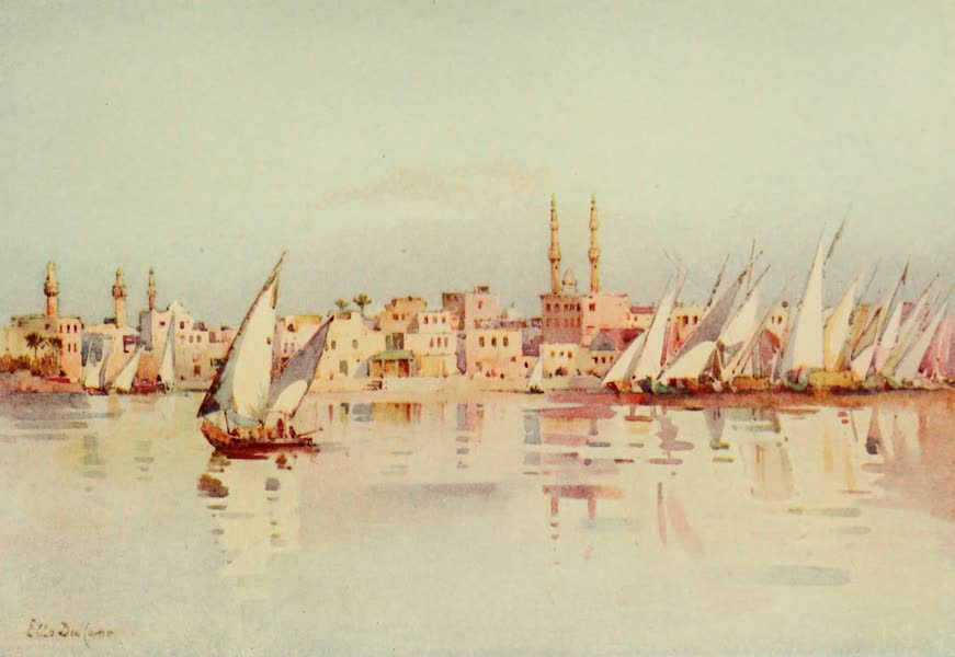 The Banks of the Nile - Damietta (1913)