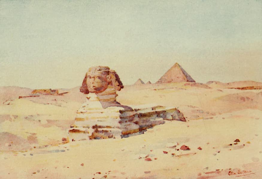The Banks of the Nile - The Sphinx (1913)