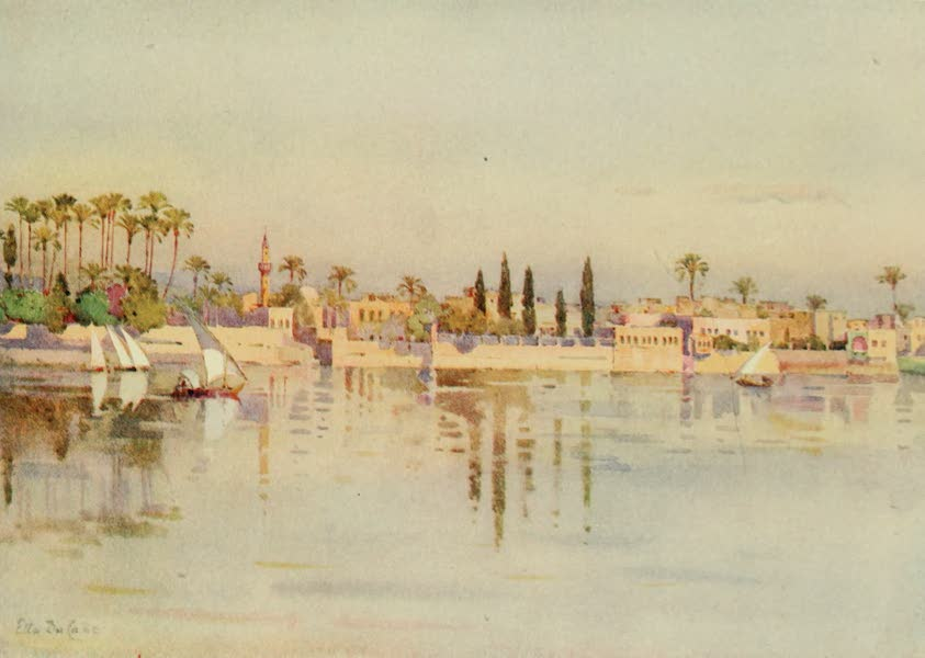 The Banks of the Nile - The Island of Roda, Cairo (1913)