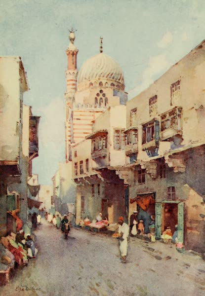 The Banks of the Nile - Darb-el-Gamamiz, Cairo (1913)