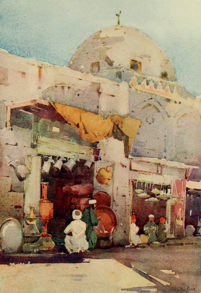 The Banks of the Nile - Coppersmiths' Bazaar, Cairo (1913)