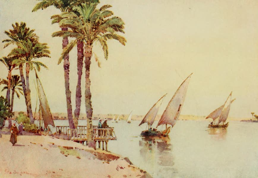 The Banks of the Nile - Sailing-Boats on the Nile (1913)