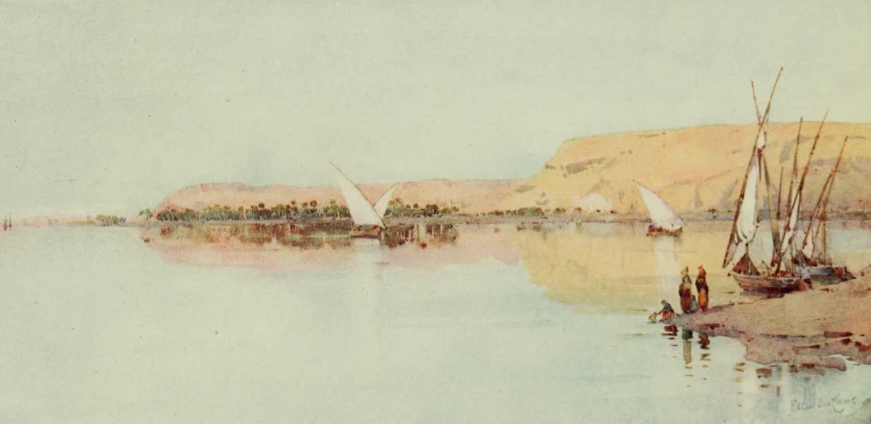 The Banks of the Nile - The Nile near Temeli (1913)