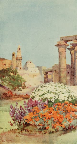 The Banks of the Nile - The Temple of Luxor (1913)