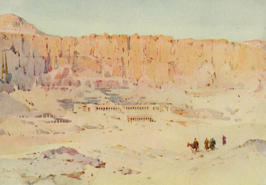 The Banks of the Nile - Der-el-Bahri (1913)