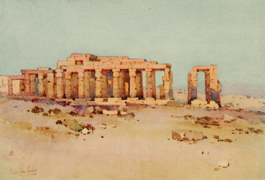 The Banks of the Nile - The Ramesseum (1913)