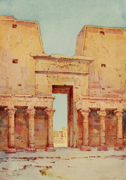 The Banks of the Nile - Edfu (1913)