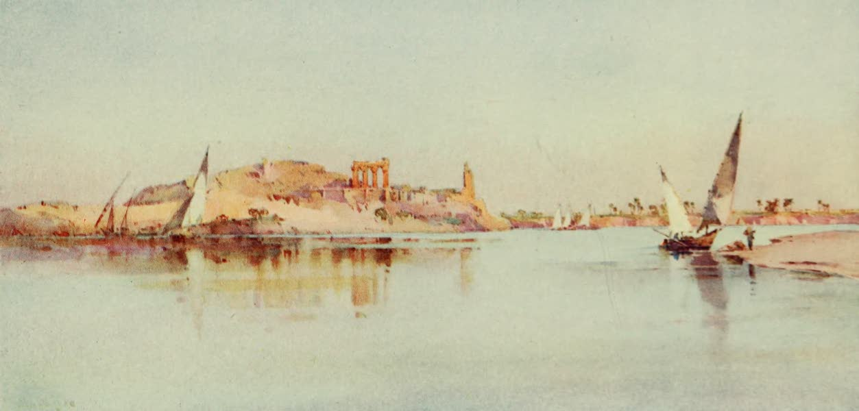 The Banks of the Nile - Kom Ombo (1913)