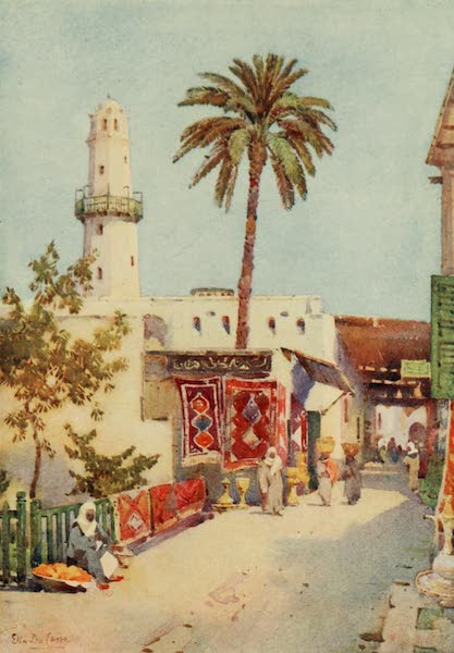 The Banks of the Nile - The Bazaar, Assuan (1913)