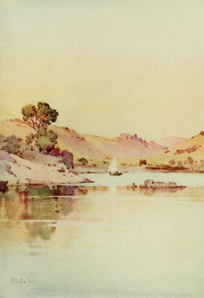 The Banks of the Nile - The Monastery of St. Simon, Assuan (1913)