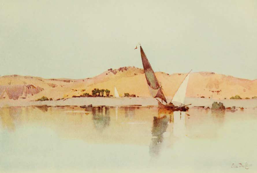 The Banks of the Nile - Waiting for the Breeze, Early Morning, Assuan (1913)