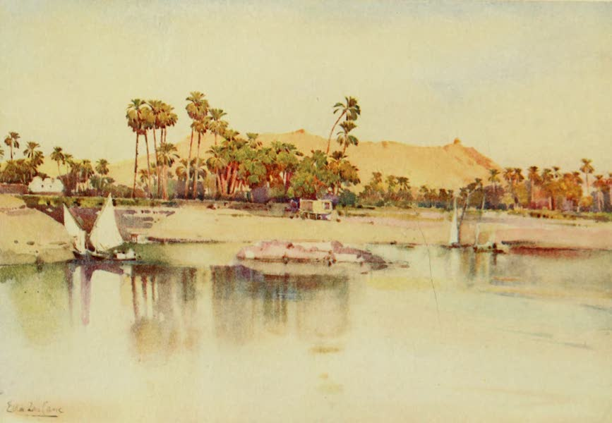 The Banks of the Nile - Elephantine Island (1913)