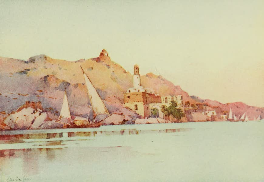 The Banks of the Nile - Bellal, Nubia (1913)