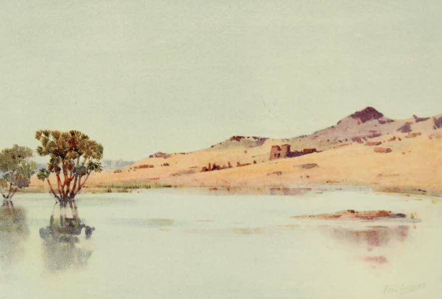 The Banks of the Nile - El Sebua, Nubia (1913)