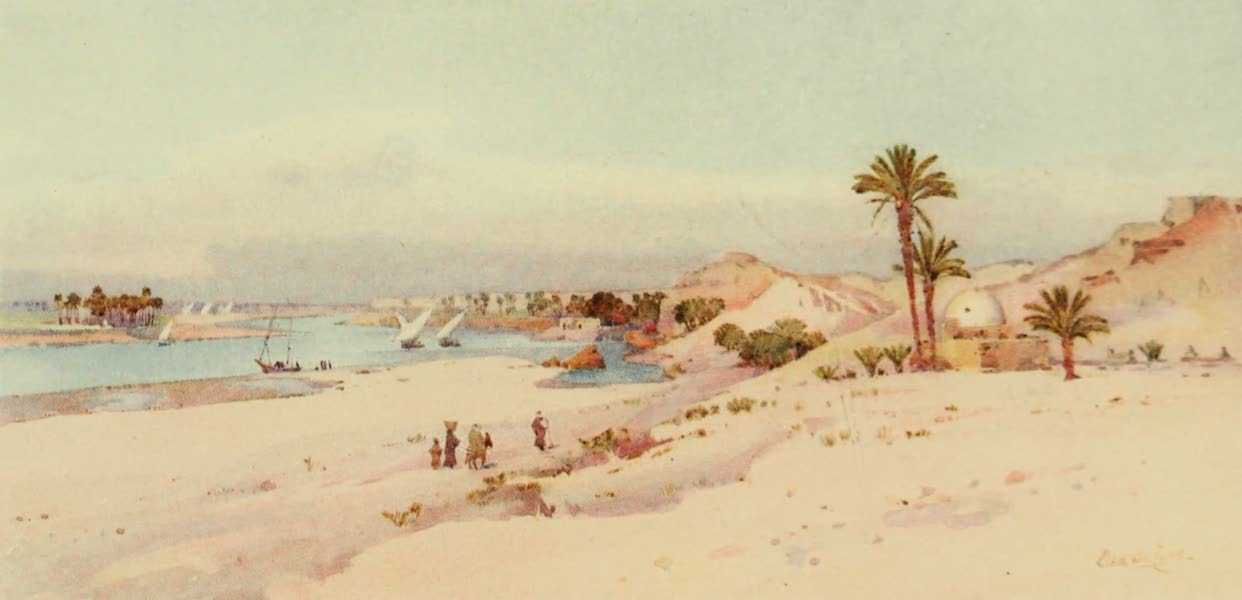 The Banks of the Nile - El Seririeh (1913)