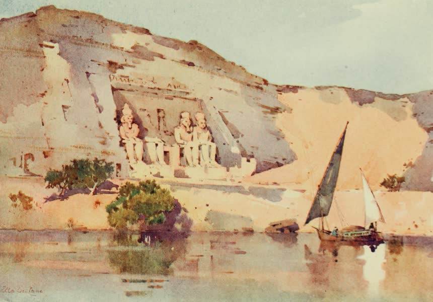 The Banks of the Nile - Abu Simbel (1913)