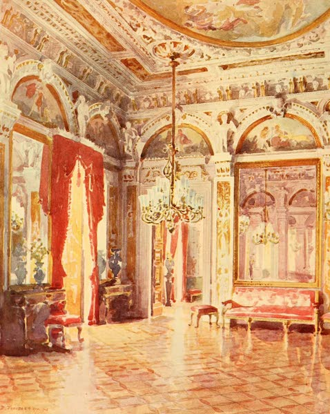 The Beautiful Rio de Janiero - A Corner of the Hall of Honour, Cattete Palace (1914)