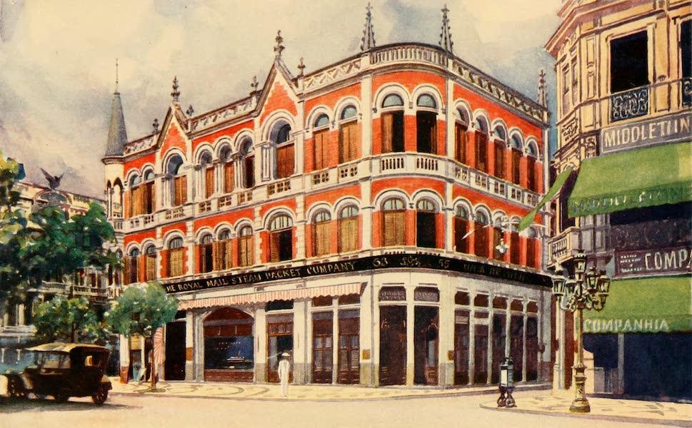 The Beautiful Rio de Janiero - The Royal Mail Steam Packet Company's Offices, Avenida Rio Branco (1914)
