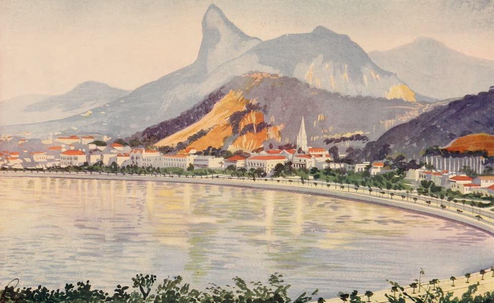 The Beautiful Rio de Janiero - The Botafogo Portion of Rio's Bay-side Avenue (1914)