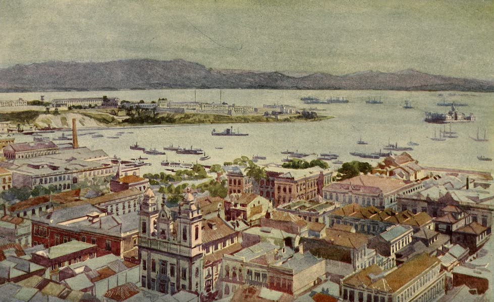The Beautiful Rio de Janiero - A Bit of Rio with the Ilha das Cobras and the Ilha Fiscal (1914)