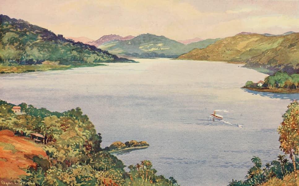 The Beautiful Rio de Janiero - A Glimpse of the Lake at Riberao das Lages (1914)