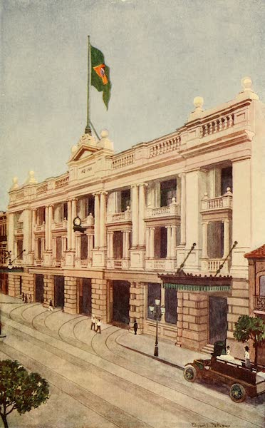 The Beautiful Rio de Janiero - Offices of the Rio Tramway, Light and Power Company (1914)