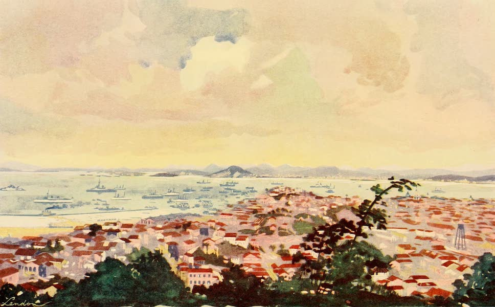 The Beautiful Rio de Janiero - A View of Rio and the Bay, showing Messrs. Walker's Wall (1914)