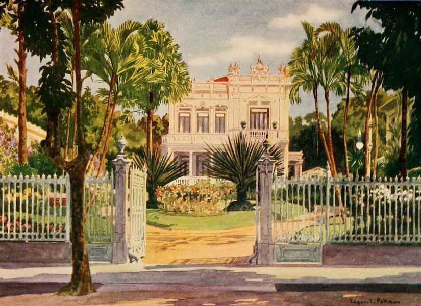 The Beautiful Rio de Janiero - Residence of Count Paulo de Frontin, Petropolis (1914)